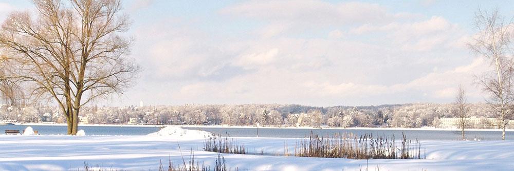 Ahorn Seehotel Templin See im Winter