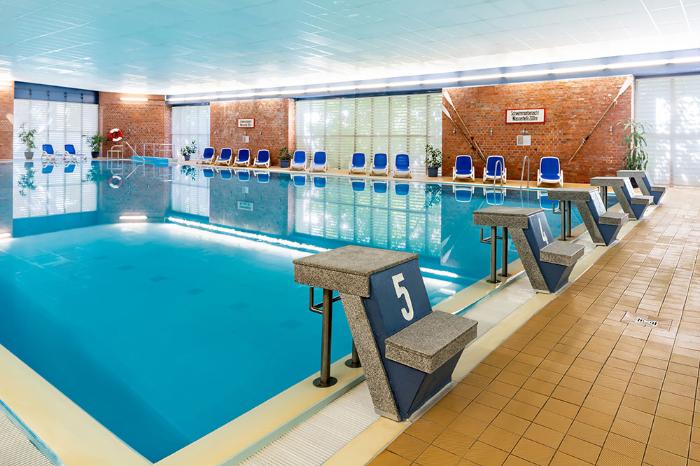 Ahorn Seehotel Templin Innen-Pool